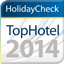 Holiday Check Top Hotel 2014